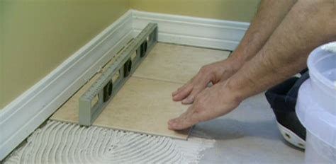 can you lay tile linoleum floor how to tile vinyl flooring today s homeowner