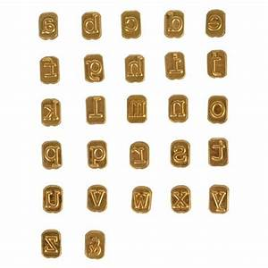 mini hot stamps alphabet set lowercase ebay With individual metal letter stamps