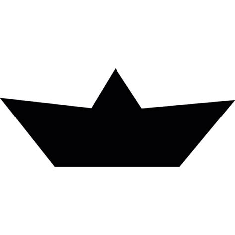 Boat Shape Drawing by Paper Boat Shape Icons Free