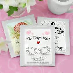 beau coup wedding favors personalized wedding tea bag favors wedding brides grooms attendants wedding ceremony