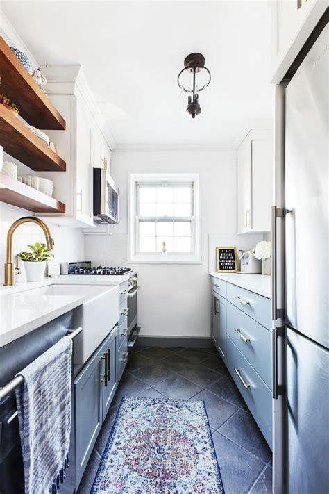 galley kitchen rules  small kitchen design