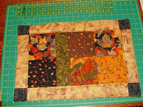 quilted placemats patterns sew free charm placemat pattern