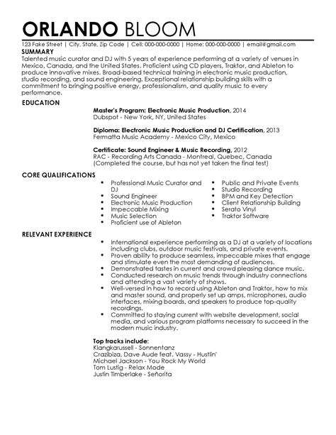 Professional Dj Resume Templates To Showcase Your Talent. Dental Assistant Description For Resume. How To Create A Simple Resume. Transportation Dispatcher Resume Examples. Office Resume Samples. Pretty Resume Templates Free. Examples Of Chronological Resume. Network Resume Sample. Sample College Student Resume For Internship