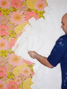 Peinture Sur Papier Peint Existant : peindre sur du papier peint techniques astuces et ~ Dailycaller-alerts.com Idées de Décoration