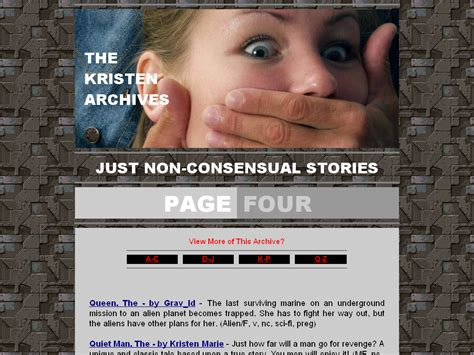 The Kristen Archives Just Nonconsensual Stories