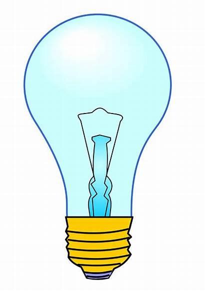 Bulb Clip Clipart Bulbs Electric Cliparts Lamp