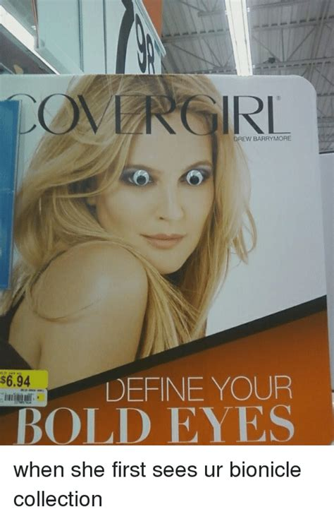 Define Dank Memes - drew barrymore define your s694 bold eyes when she first sees ur bionicle collection define