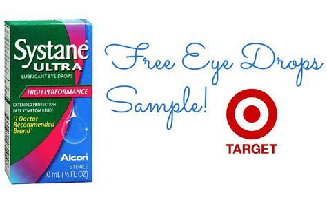 sample  systane eye drops  target