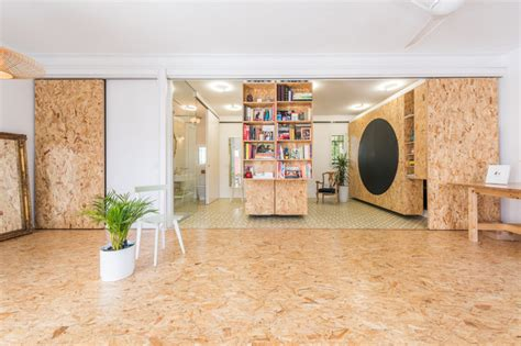 bureau osb un intérieur modulable avec des panneaux d 39 osb