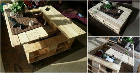 build  exquisite multifunctional coffee table