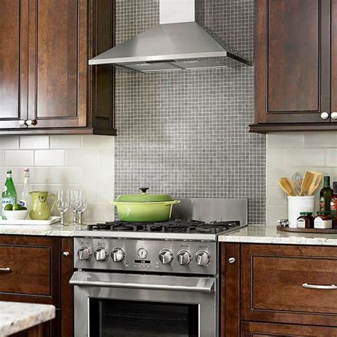 Tile Backsplash Ideas for Behind the Range   Stove, Glass