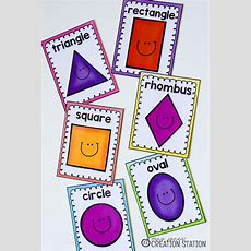 Free Shape Printables For Your Geometry Unit  Kindergarten  Printable Shapes, Teaching Shapes
