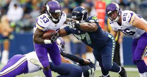 vikings  seahawks monday night football odds tv