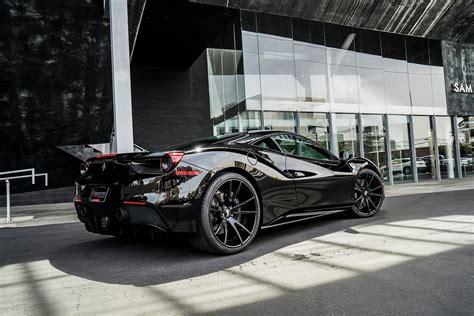 ferrari  gtb forgiato wheels cars black wallpaper