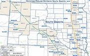 South Dakota Keystone Pipeline Map