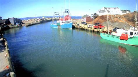 bay  fundy spring tide timelapse halls harbour youtube