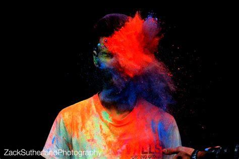 Powder Paint Photoshoot Creative Action Powder Paint