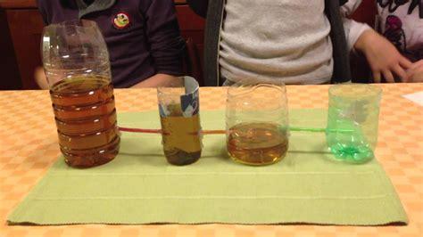 i vasi comunicanti esperimento di scienze vasi comunicanti 1