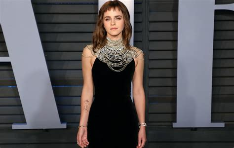 Emma Watson Jokes That She Needs Tattoo Proofreader