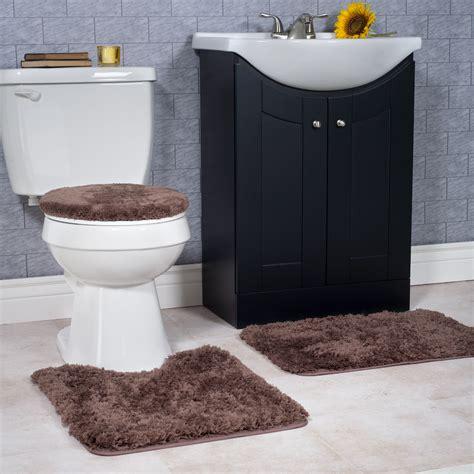 decor winsome  piece bathroom rug set  terrific home flooring trends design