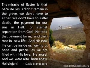 FAMOUS EASTER QUOTES FROM THE BIBLE image quotes at ...
