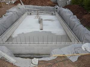 realiser une piscine en beton 3 piscine en blocs 224 With realiser une piscine en beton