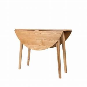 Table Demi Lune Pliante : table manger ronde pliante en bois foldy 100 ~ Dode.kayakingforconservation.com Idées de Décoration