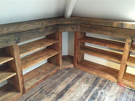vieux bureau bois meuble vieux bois sur mesure