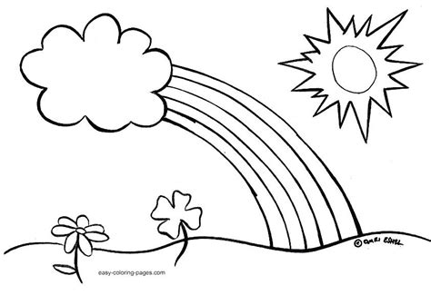 Spring Coloring Pages Preschool Easy Spring Coloring Pages