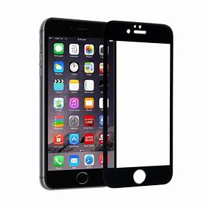 IPHONE 6/6S Color Tempered Glass Screen Protector Black
