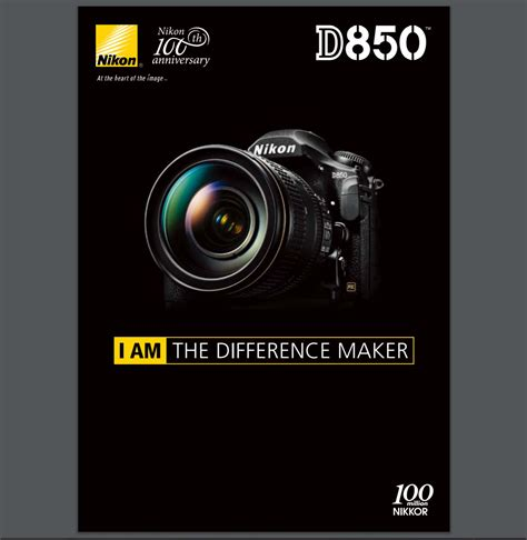 Nikon D850 Brochure Now Available for Download ! (90 Pages