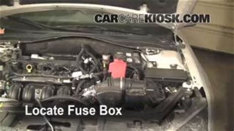 2011 Ford Fusion 4 Cylinder Fuse Box by Interior Fuse Box Location 2010 2012 Ford Fusion 2010