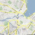 Map of Geneva, Switzerland   Hotels Accommodation