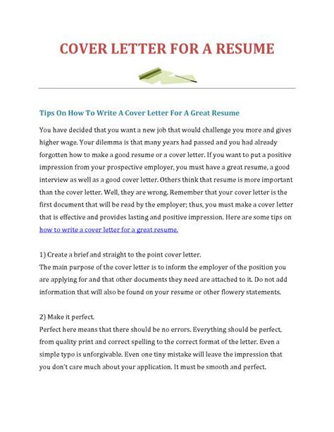 21289 exles of a resume cover letter basic cover letter for a resume jantaraj