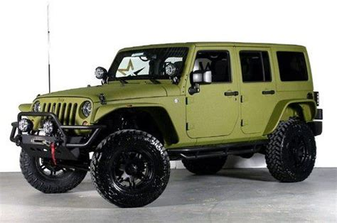 jeep rescue green find new starwood motors rescue green kevlar ultra