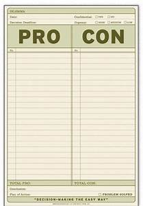 How to a pro and con list list producer for Pro con list template
