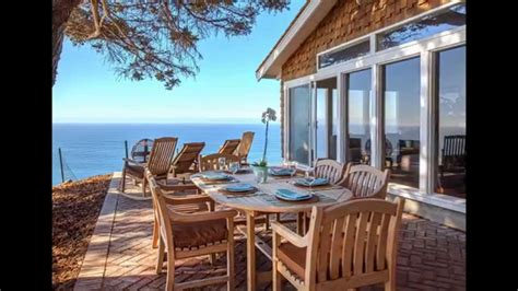 big cabin for rent cliff house big sur ca vacation rental