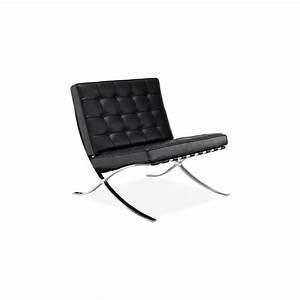 Fauteuil Mies Van Der Rohe : fauteuil barcelona mies van der rohe knoll pas cher ~ Melissatoandfro.com Idées de Décoration