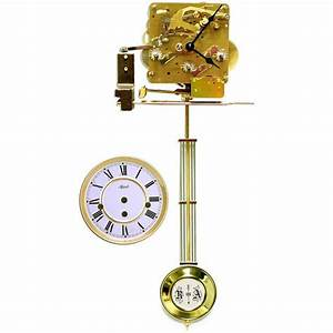 Hermle 341 45 Westminster Chimes Movement Wall Clock
