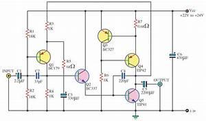 180 W Amplifier Circuit