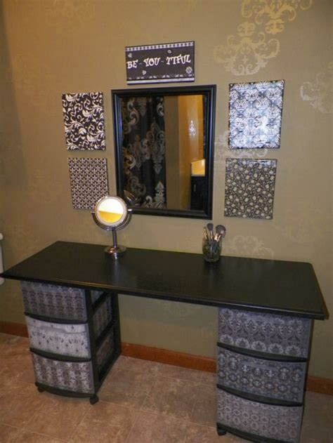 diy vanity table plans 51 makeup vanity table ideas ultimate home ideas