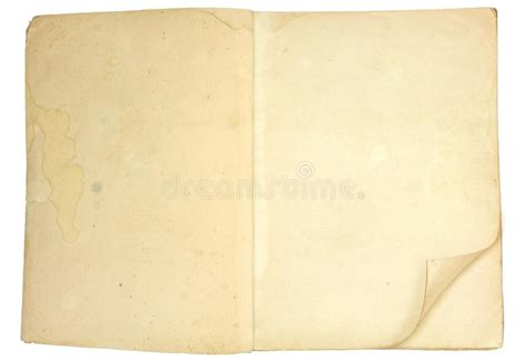 open book  blank pages stock image image