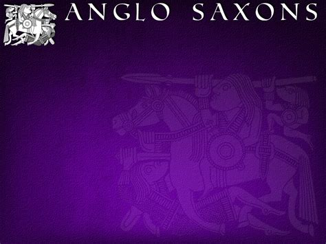 anglo saxons powerpoint template adobe education