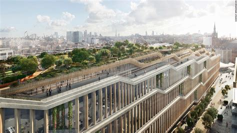 Google unveils designs for sprawling London headquarters - CNN