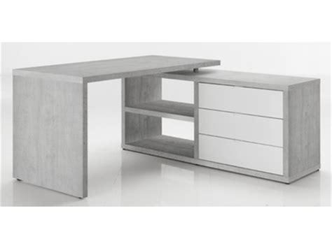 meuble de bureau d angle bureau d 39 angle albrecht blanc