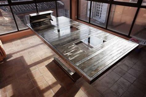 bureau martigues création d 39 une table bureau en acier et verre à aix en