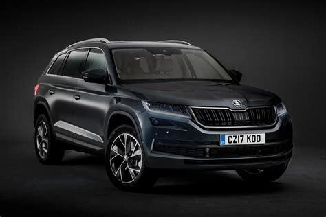 skoda kodiaq suv official pictures auto express