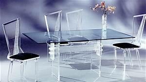 Acrylic 6pc Dining Set
