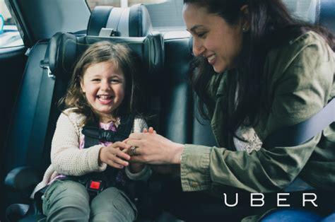 uberfamily   child car seat service  uber