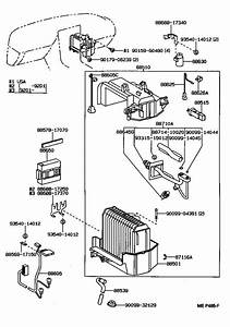 Toyota Mr2 Amplifier Assembly  Cooler Stabilizer  Electrical  Conditioning  Air